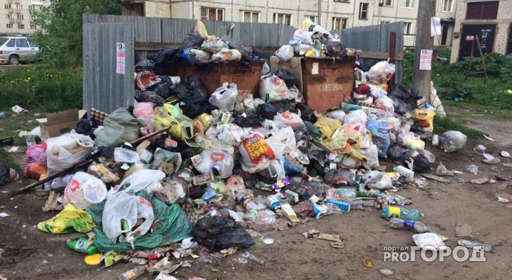 В Коми назвали новые расценки на вывоз мусора