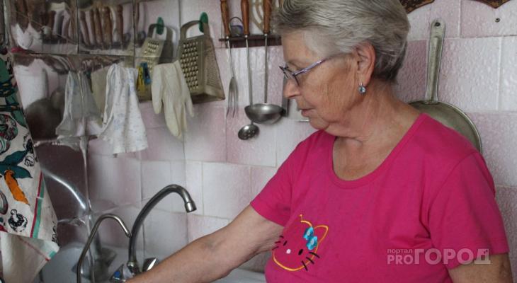 В Сыктывкаре коммунальщики-оборотни забрали у бабушки последние деньги
