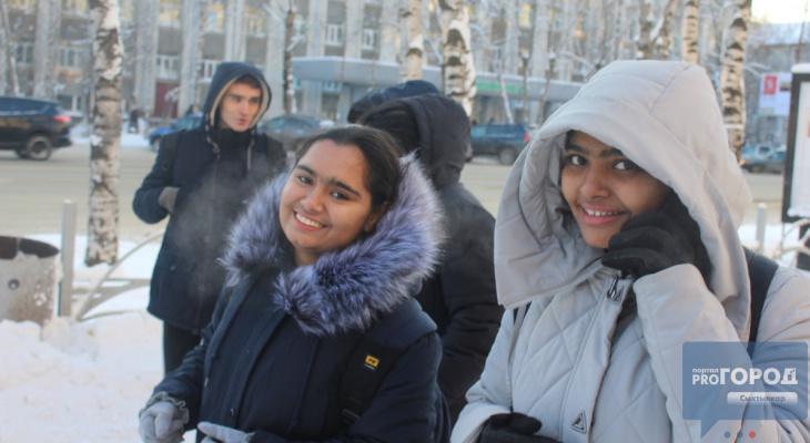 Борщ, снег и медведи: студенты из Индии рассказали, что они ожидали увидеть в Сыктывкаре (фото)