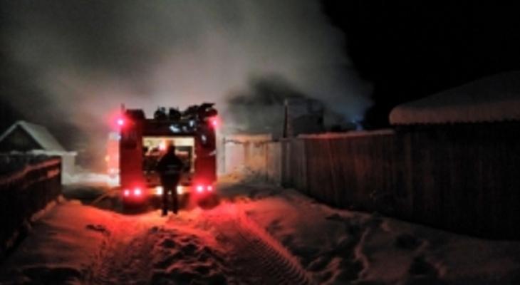 В Коми пожар превратил курятник в гигантскую духовку
