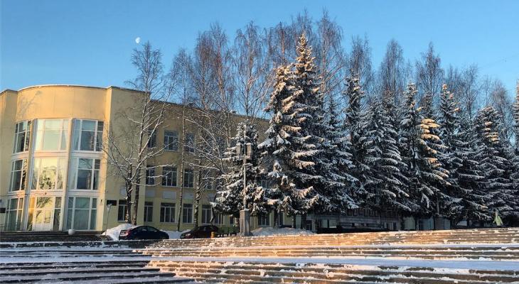 Фото дня: морозный день в Сыктывкаре