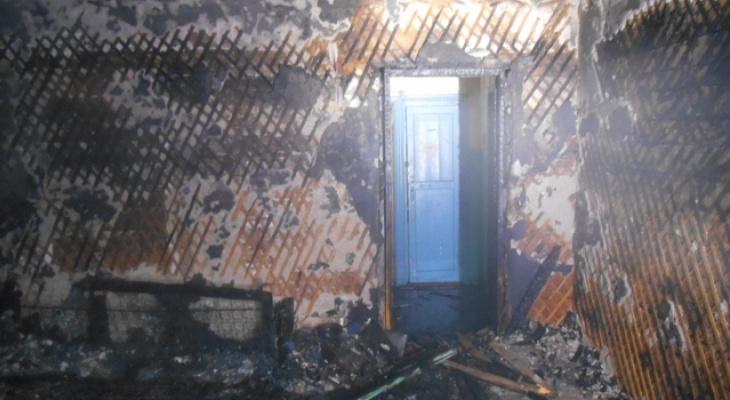 В Сыктывкаре двое мужчин устроили пожар, чтобы замести следы преступления