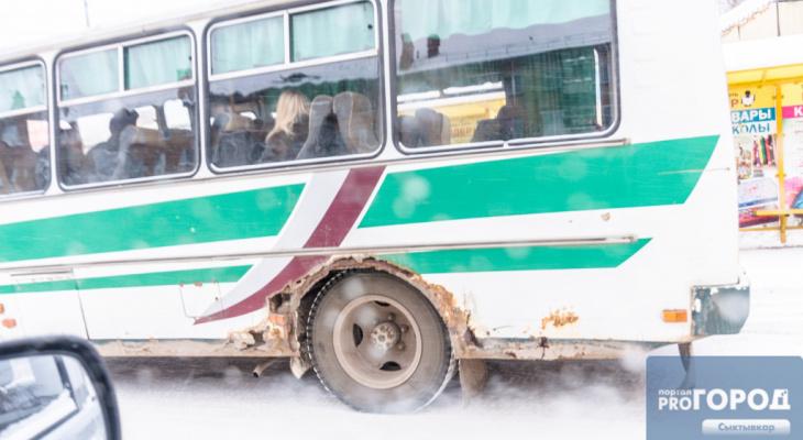 В Сыктывкаре изменятся маршруты некоторых автобусов