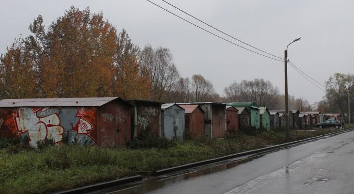 Мэрия Сыктывкара требует убрать гаражи, которые незаконно установили жители Орбиты