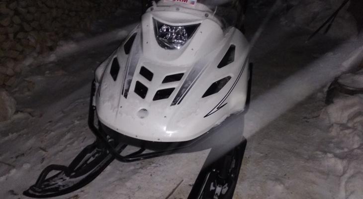 В Коми пьяный лихач на снегоходе сбил 39-летнего мужчину