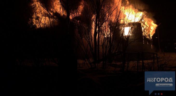 В одном из сел Коми за один день погорели сразу два дома