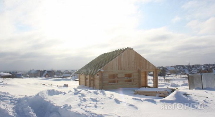 От сваи до конька крыши: дом под ключ в Сыктывкаре можно поднять за полтора месяца