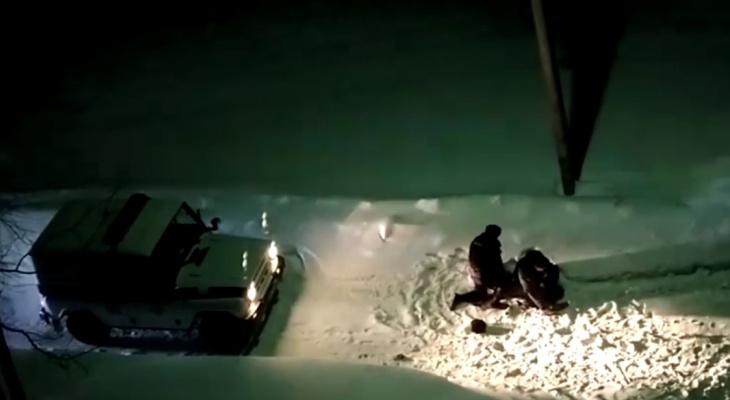 В УМВД Сыктывкара рассказали, кем был буйный «каратист», которого «крутили» полицейские