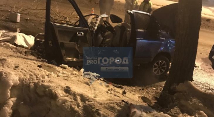 На водителя «десятки», которая разбилась во время погони в Сыктывкаре, завели дело