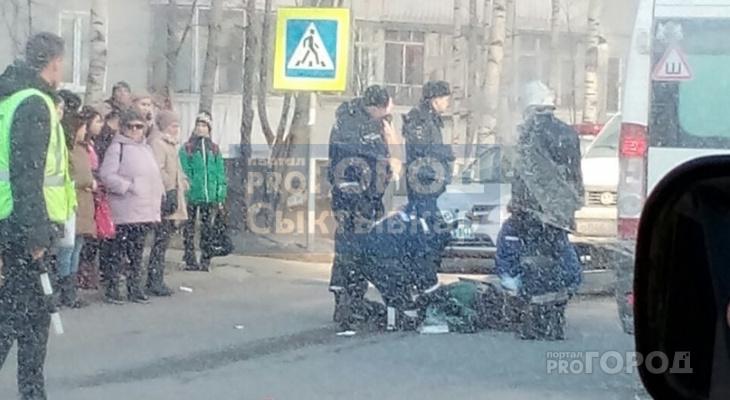 В Сыктывкаре на пешеходном переходе сбили ребенка (фото)