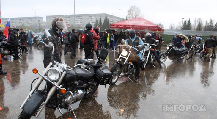 В ГИБДД рассказали, как должны ездить сыктывкарские байкеры, чтобы никого не сбить