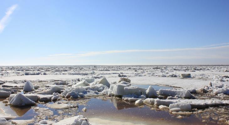 В Коми тяжелобольного пенсионера пришлось эвакуировать по опасному весеннему льду