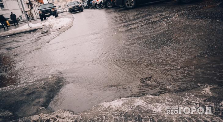 Погода в Сыктывкаре на 30 апреля: небольшое потепление и слабый снег с дождем