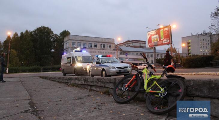 Сыктывкарка ищет школьника-велосипедиста, который на большой скорости сбил ее