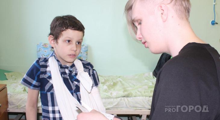 День Победы в сыктывкарской больнице: дети сделали бумажных голубей (фото)