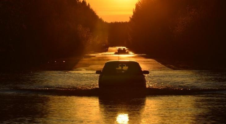 В МЧС рассказали, повторит ли Сыктывкар судьбу Ухты, которую затопило из-за половодья