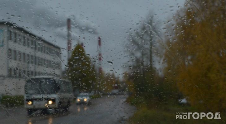 Погода в Сыктывкаре на 14 мая: холодный ветер и дождь