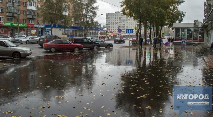 Погода в Сыктывкаре на 15 мая: прохладно и дождливо