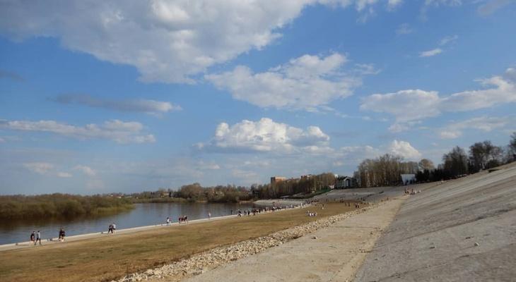 Фото дня: набережная Сыктывкара в тёплые майские дни