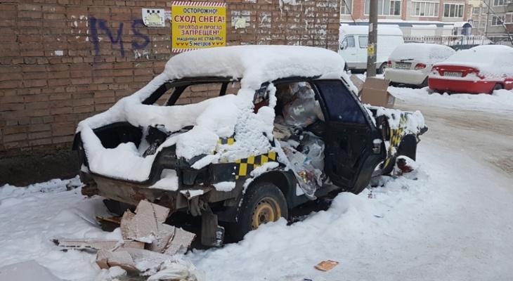 В Сыктывкаре создали комиссию, которая очистит город от автохлама