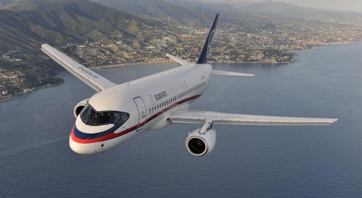 В Сыктывкаре отменили вылет самолета Sukhoi superjet 100