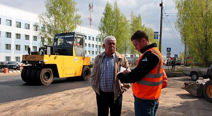 В Сыктывкаре полностью закончили ремонт одной из улиц