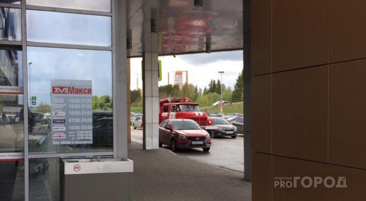 В Сыктывкаре эвакуировали крупный торговый центр