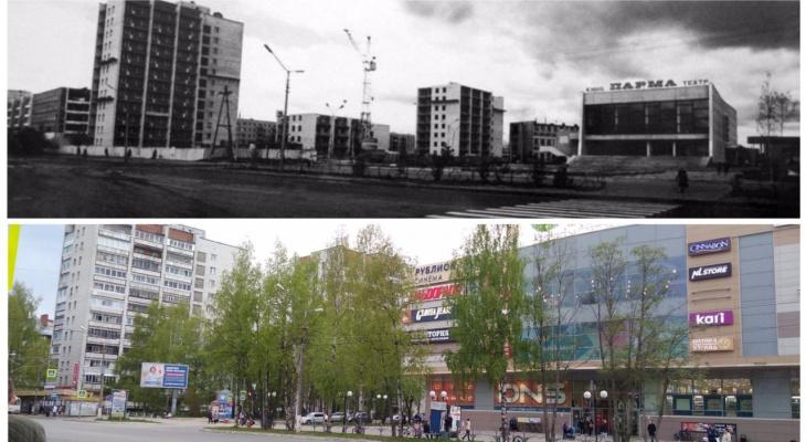 До и после: как изменился перекрёсток улиц Коммунистической и Старовского в Сыктывкаре за 45 лет