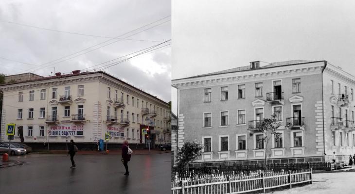 До и после: как изменился перекресток улицы Ленина и Орджоникидзе в Сыктывкаре за 80 лет
