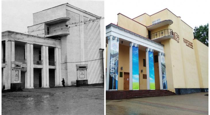 До и после: как изменился Театр драмы в Сыктывкаре за 66 лет