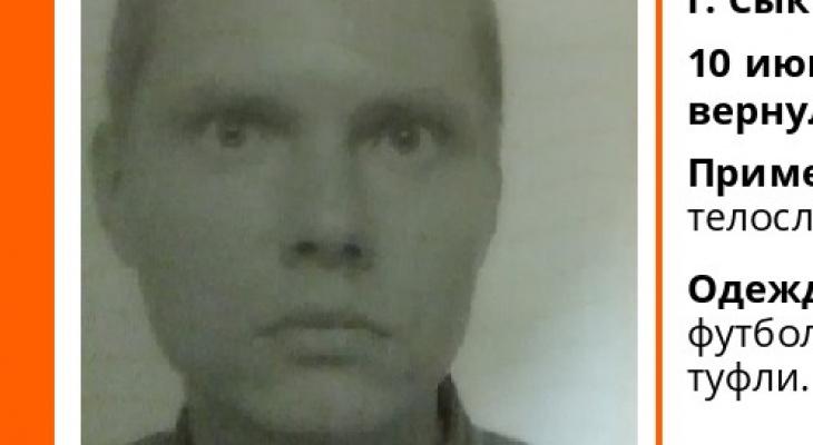 В Сыктывкаре ищут худощавого мужчину, который бесследно исчез