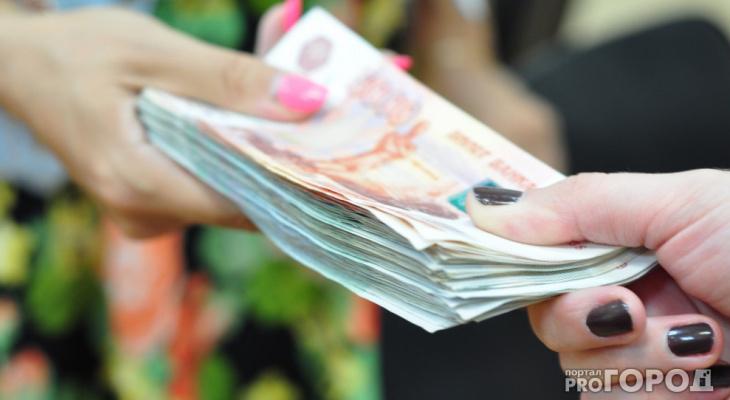 Специалисты подсчитали среднюю зарплату в Коми за май