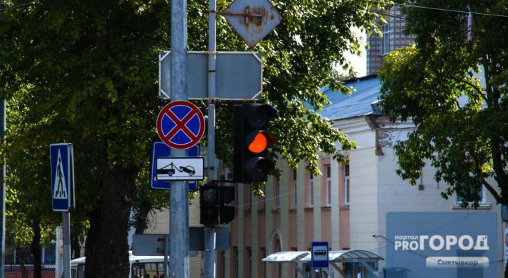 Сыктывкарцы о светофоре возле ТРЦ «Июнь»: «Новый режим движения для оленей»