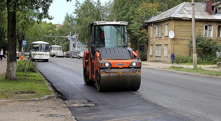 В Сыктывкаре осталось отремонтировать всего четыре улицы