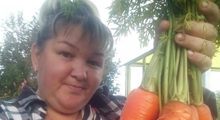 В конкурсе «Моя дача» сыктывкарцы хвастают большой морковью (фото)