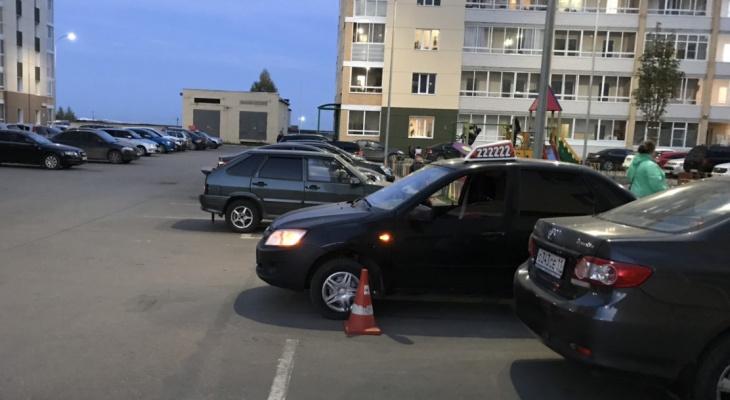В Сыктывкаре водитель «Лады» наехал на 4-летнего мальчика