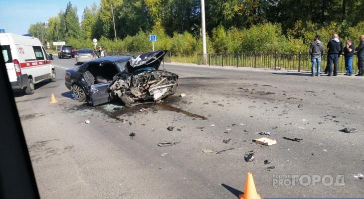 Две страшные аварии на въезде в Эжву: сыктывкарцы рассказали о причинах