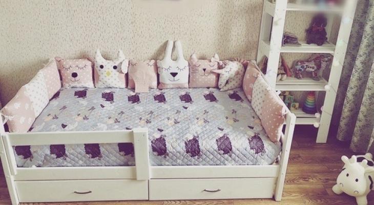 Сыктывкарец  смастерил из пиломатериалов мебель для детской