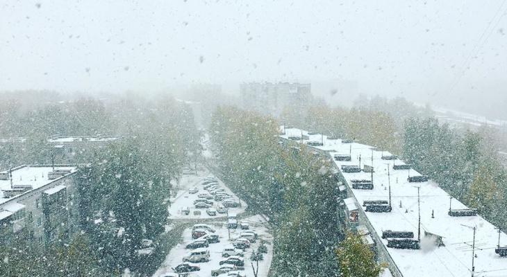 Первый снег в Сыктывкаре: подборка лучших фото из Instagram
