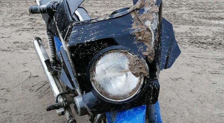 В Коми насмерть разбился лихач на мотоцикле без номеров