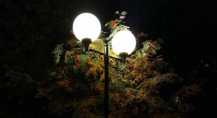 48 миллионов рублей потратил Сыктывкар на освещение улиц