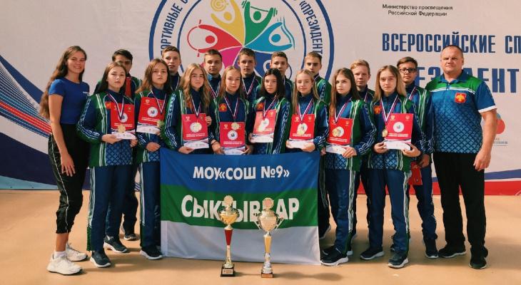 Школьники из Сыктывкара везут «золото» с президентских соревнований: «Мы очень волновались»