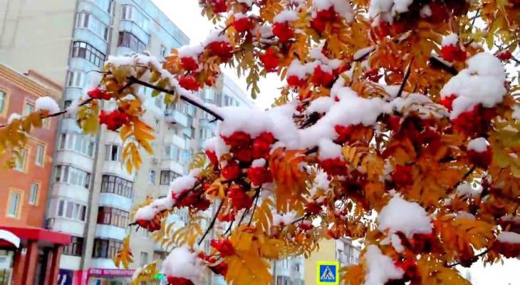 Погода в Сыктывкаре на 26 сентября: очень холодно и снежно