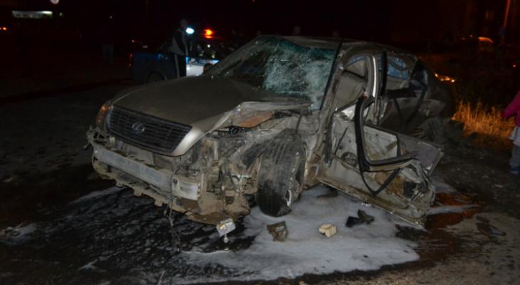 Появилось видео жуткой аварии в Сыктывкаре, где погибли отец с сыном