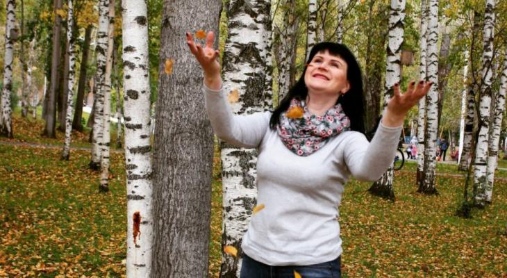 В конкурсе «Мисс октябрь» две Екатерины рассказали, за что любят осень (фото)