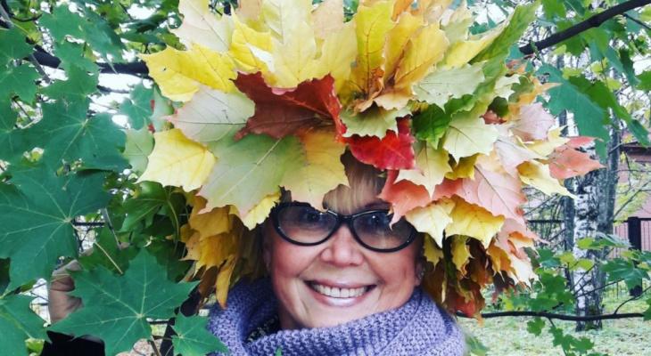 В конкурсе «Мисс октябрь» новая участница, которая обожает осень
