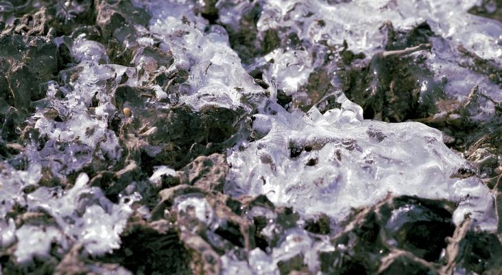 На севере Коми начал таять древний лед