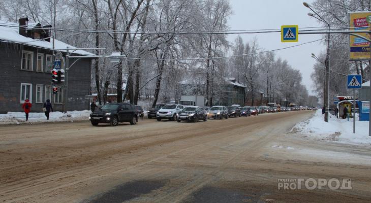 В Сыктывкаре на полгода перекроют почти километр Октябрьского проспекта