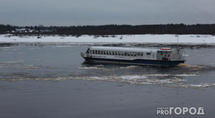 Появились подробности ЧП с машиной, которая провалилась под лед в Сыктывкаре