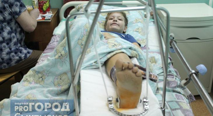 Дети в гипсе: как встречают Новый год пациенты травматологии (фото)
